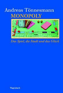 Book cover Monopoly. The Game, the City and the Luck